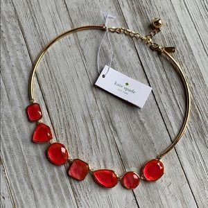 NWT Kate Spade Vegas Jewels Necklace Cabaret Pink